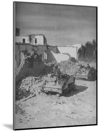 'Past Graziani's Shattered Stronghold Lies the Conquerors' Road', 1941-Unknown-Mounted Photographic Print