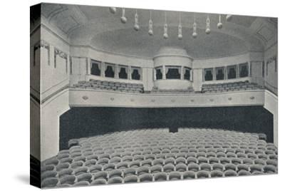 'Interior of a new Kino Theatre in the West End of Berlin', c1913-Unknown-Stretched Canvas Print