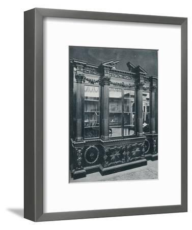 'Georgian Cabinet, reproduced by permission of H.R.H. The Princess of Wales', 1908-Unknown-Framed Photographic Print