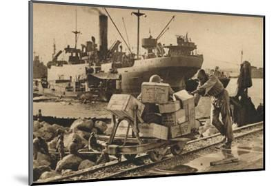 'Busy Scenes in Benghazi', 1943-Unknown-Mounted Photographic Print