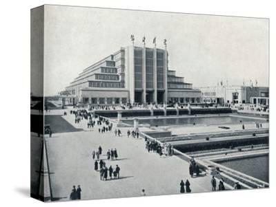 'Brussels: The Universal and International Exhibition', 1935-Unknown-Stretched Canvas Print