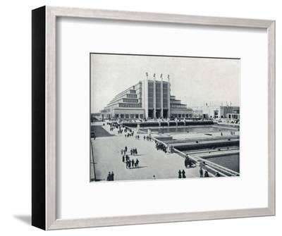 'Brussels: The Universal and International Exhibition', 1935-Unknown-Framed Photographic Print