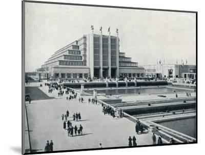 'Brussels: The Universal and International Exhibition', 1935-Unknown-Mounted Photographic Print