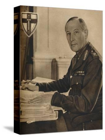 'Leader of Britain's Crusaders', 1942-Unknown-Stretched Canvas Print