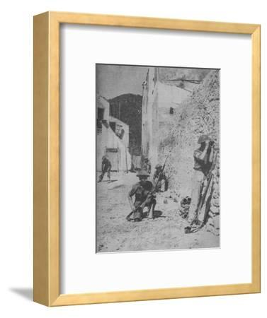 'Fifth Army Patrol', 1943-44-Unknown-Framed Photographic Print