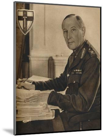 'Leader of Britain's Crusaders', 1942-Unknown-Mounted Photographic Print