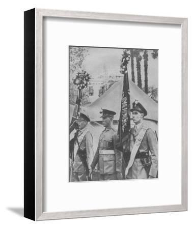 'Roses for the ''Old and Bold'', 1942-Unknown-Framed Photographic Print