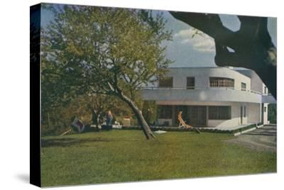 'Contempora House', 1935-Unknown-Stretched Canvas Print