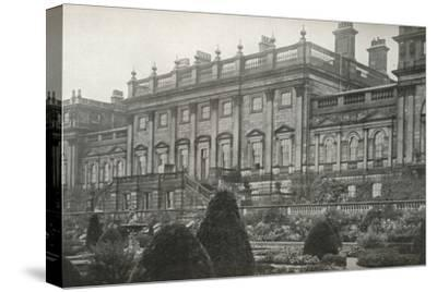 'Harewood House, the residence of the Rt. Hon. The Earl of Harewood', c1913-Unknown-Stretched Canvas Print