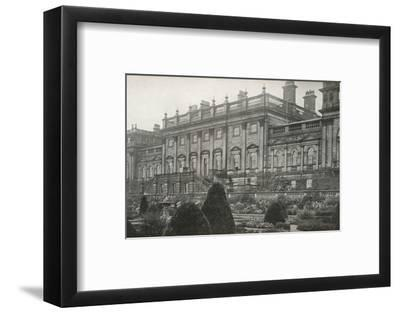 'Harewood House, the residence of the Rt. Hon. The Earl of Harewood', c1913-Unknown-Framed Photographic Print
