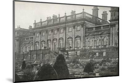 'Harewood House, the residence of the Rt. Hon. The Earl of Harewood', c1913-Unknown-Mounted Photographic Print