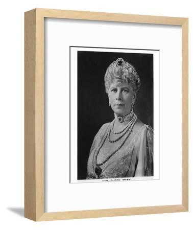 'HM Queen Mary' (1867-1953), 1937-Unknown-Framed Photographic Print
