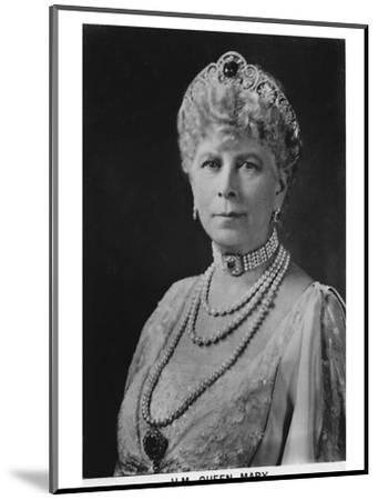 'HM Queen Mary' (1867-1953), 1937-Unknown-Mounted Photographic Print