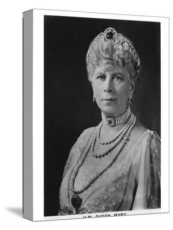 'HM Queen Mary' (1867-1953), 1937-Unknown-Stretched Canvas Print