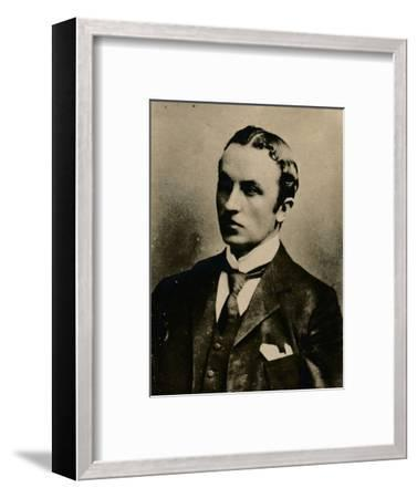 'George Curzon, 1st Marquess Curzon of Kedleston', (1859-1925), British Conservative, 1894-1907-Unknown-Framed Photographic Print