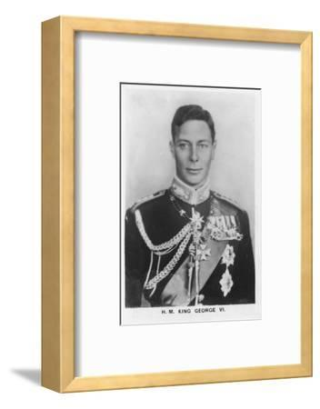 'HM King George VI' (1895-1952), 1937-Unknown-Framed Photographic Print