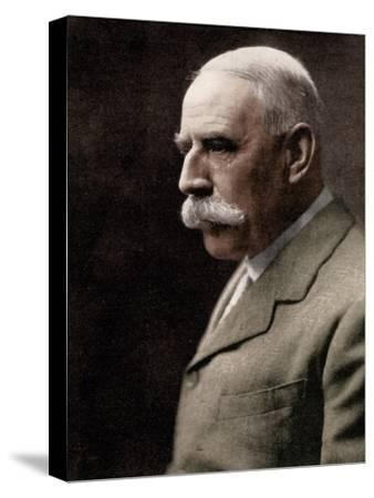 Sir Edward Elgar, (1857-1934), English composer, early 20th century-Unknown-Stretched Canvas Print