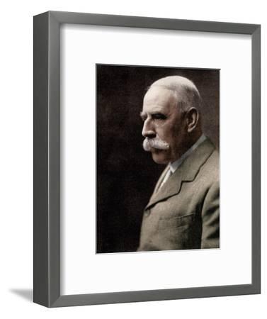 Sir Edward Elgar, (1857-1934), English composer, early 20th century-Unknown-Framed Giclee Print