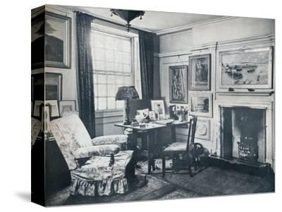 'Edward Marsh's living-room', c1934-Unknown-Stretched Canvas Print