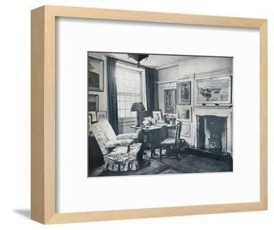 'Edward Marsh's living-room', c1934-Unknown-Framed Photographic Print