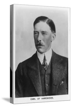 'Henry George Charles Lascelles, 6th Earl of Harewood' (1882-1947), 1937-Unknown-Stretched Canvas Print
