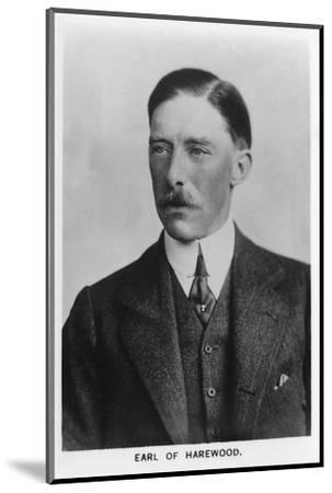 'Henry George Charles Lascelles, 6th Earl of Harewood' (1882-1947), 1937-Unknown-Mounted Photographic Print