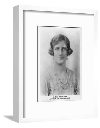 'HRH Princess Arthur of Connaught', 1937-Unknown-Framed Photographic Print