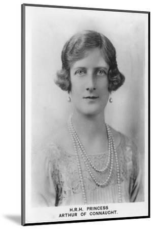 'HRH Princess Arthur of Connaught', 1937-Unknown-Mounted Photographic Print
