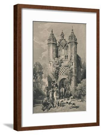 West Stow Hall, Suffolk, 1915-Unknown-Framed Giclee Print
