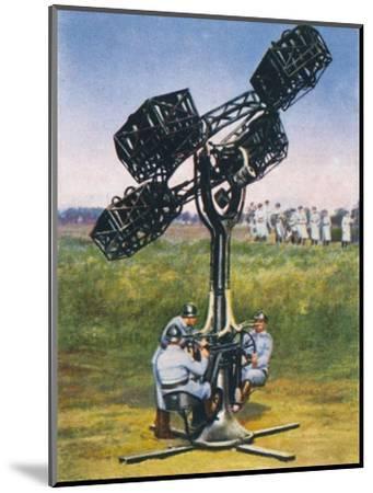 Deteting unseen enemies, 1938-Unknown-Mounted Giclee Print