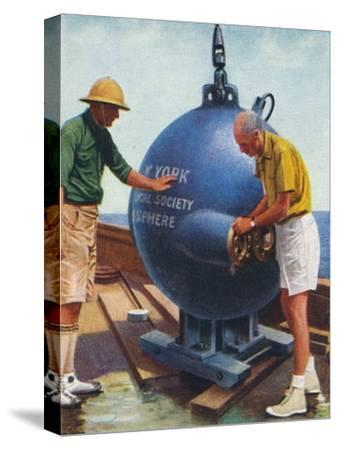 The Bathysphere, 1938-Unknown-Stretched Canvas Print