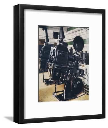 Modern cinema operating box, 1938-Unknown-Framed Giclee Print