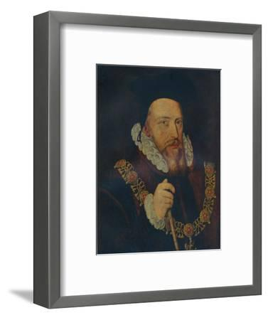 'William Cecil, Lord Burghley', 16th century-Unknown-Framed Giclee Print
