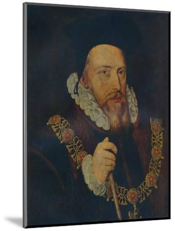 'William Cecil, Lord Burghley', 16th century-Unknown-Mounted Giclee Print