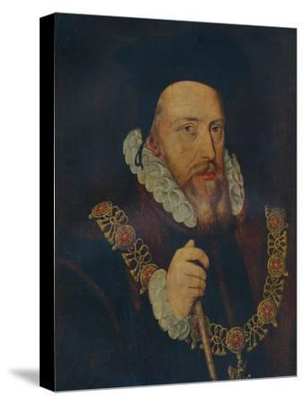 'William Cecil, Lord Burghley', 16th century-Unknown-Stretched Canvas Print