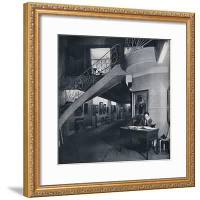 'The ground floor gallery of the American-British Art Center', c1941-Unknown-Framed Photographic Print