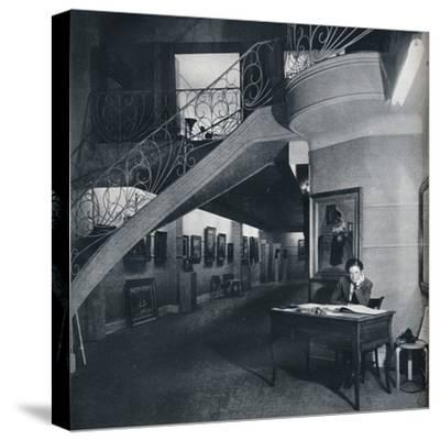 'The ground floor gallery of the American-British Art Center', c1941-Unknown-Stretched Canvas Print