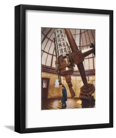 Greenwich's largest telescope, 1938-Unknown-Framed Giclee Print