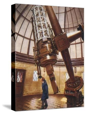 Greenwich's largest telescope, 1938-Unknown-Stretched Canvas Print
