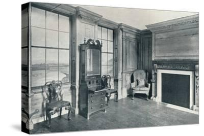 A room of c1740 from 63, Mansell Street, c1740-Unknown-Stretched Canvas Print