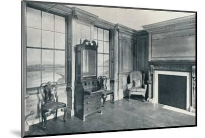 A room of c1740 from 63, Mansell Street, c1740-Unknown-Mounted Photographic Print