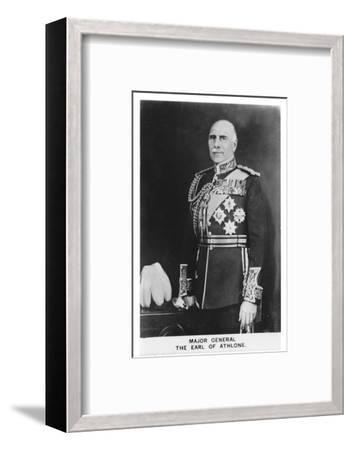 'Major General The Earl of Athlone', 1937-Unknown-Framed Photographic Print