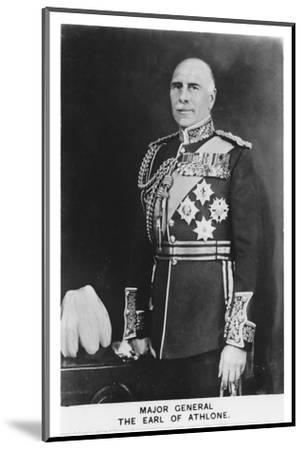 'Major General The Earl of Athlone', 1937-Unknown-Mounted Photographic Print