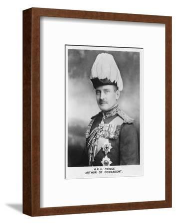 'HRH Prince Arthur of Connaught', 1937-Unknown-Framed Photographic Print