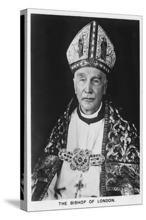 'The Bishop of London Dr Winnington-Ingram', 1937-Unknown-Stretched Canvas Print