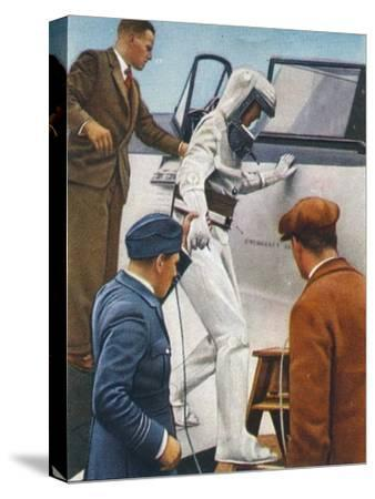 Sealed flying suit, 1938-Unknown-Stretched Canvas Print