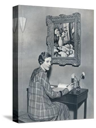 'Marie Ney in her Flat', c1934-Unknown-Stretched Canvas Print