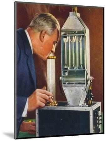 Cleaning air by electricity, 1938-Unknown-Mounted Giclee Print