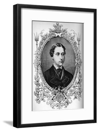 The Prince of Wales at the time of his marriage, c1863 (1910)-Unknown-Framed Giclee Print