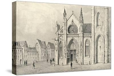 'The Portal of the Church of St Jacques la Boucherie', 1915-Unknown-Stretched Canvas Print